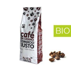 Café Descafeinado BIO Grano 1 kilo Comercio Justo (0,23€/dosis)