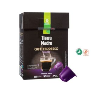 "Cápsula Café Intenso ""Tierra Madre"" Comercio Justo (0,34€/dosis)"