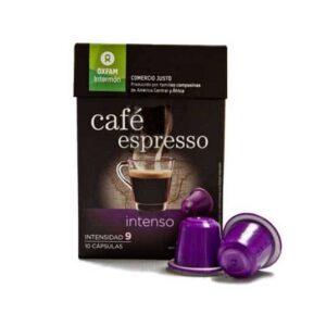 Cápsula Café Intenso Oxfam Comercio Justo (0,34€/dosis)