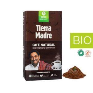 Café BIO Natural Molido 250gr Tierra MadreComercio Justo (0,11€/dosis)