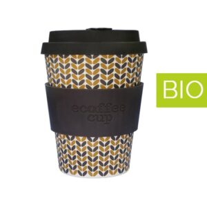 Vaso de Bambú Threadneedle 12 oz Biodegradable