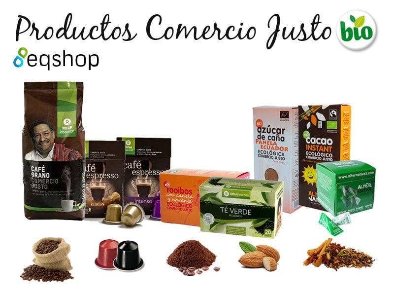 Productos Comercio Justo en nuestra tienda online