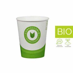 Vasos papel Compostable & Biodegradable 6 oz (100 un)